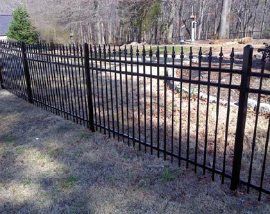 Metal Fences - The Fence Store - metal-fence-installation-services