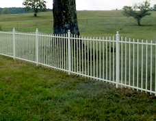 Metal Fences - The Fence Store - ornatmental-fence-installation